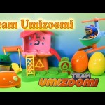 Team Umizoomi Bot Car and Umicopter a Toy Unboxing