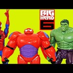 BIG HERO 6 BAYMAX New Disney Movie Toy Review Kids Toys
