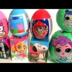 LOL Balls Peppa Pig Monster High Paw Patrol Hello Kitty Huevos Sorpresa