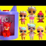 LOL Surprise Dolls Lil Sisters In PJ Masks Transformer With Owlette