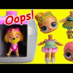 LOL Surprise Dolls Missing Heads Paw Patrol Skye Rescue and Dentist Visit