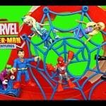 Marvel Superhero Spider-Man Adventures Toy Track Set With Joker Too Kids Toys