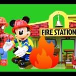 Spiderman & Mickey Mouse Fire School DisneyCarToys Lego Duplo Spider-Man KidKraft Fire Doll House