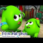 Halloween Monsters Song | Nursery Rhymes & Kids Songs – ABCs and 123s | Learn with Little Baby Bum