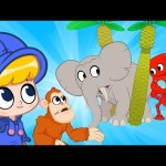 Morphle's Zoo Animals! – Tigers, Monkeys and Elephants | Cartoons for Kids | Morphle TV