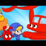 My Red Excavator – Mila and Morphle | Vehicles and Cars for Kids | Cartoons for Kids | Morphle TV