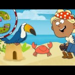 """""""C"""" Island   Learn the ABCs with Captain Seasalt And The ABC Pirates"""