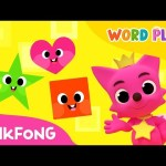 Dancing Shapes | Word Play | Pinkfong Songs for Children