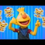 Five Little Monkeys   Sing Along With Tobee