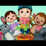 Ring Around the Rosy | CoComelon Nursery Rhymes & Kids Songs