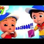 Sneeze Song | Junior Squad Cartoons | Videos For Children | Kindergarten Nursery Rhymes By Kids Tv