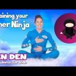 Training Your Inner Ninja 🧘♀️   Cosmic Kids: Zen Den (app preview)