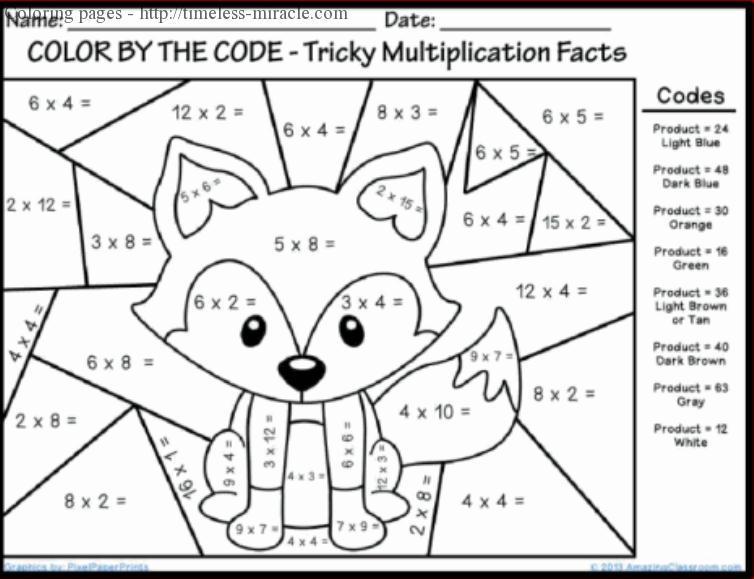 Multiplication Worksheets By 2 Digit Numbers