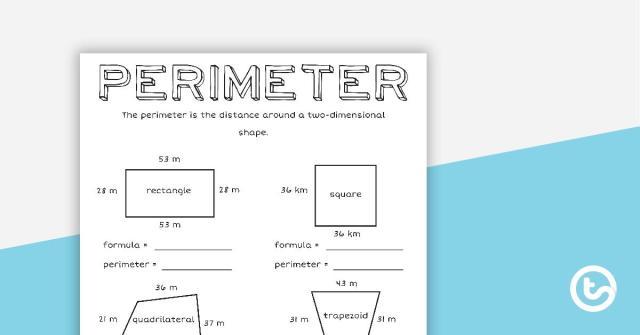 Perimeter Worksheets 5th Grade