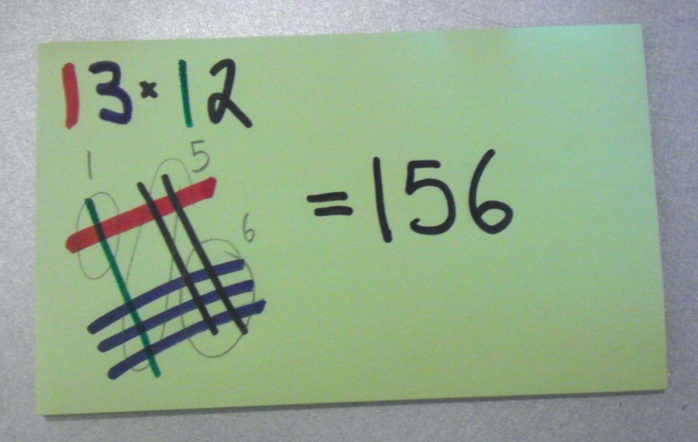Japanese Multiplication Worksheets 3