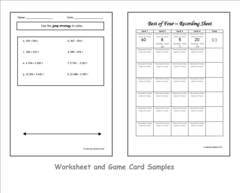 Jump Math Multiplication Worksheets 1