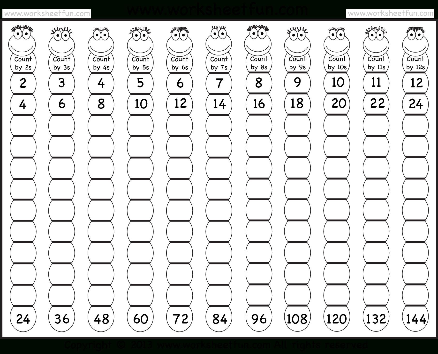 Multiplication Jumble Worksheet 3