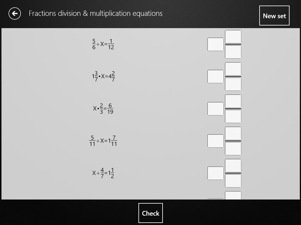 Multiplication Math Equations Worksheets