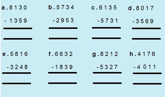 Multiplication Worksheets Grade 4 With Answers