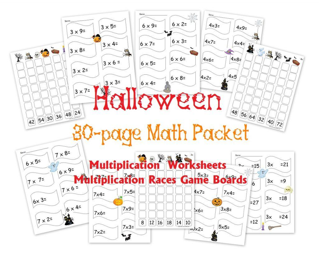 Multiplication Worksheets Homeschool Math