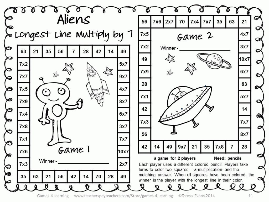 Long Multiplication Worksheets Ks3