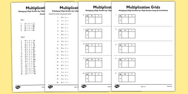 Multiplication Ladder Worksheets 6