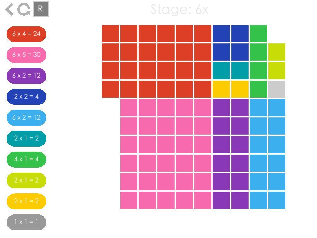 Multiplication Quilt Worksheet 2