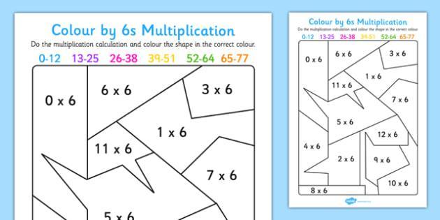 Multiplication Worksheets 6th Grade Printable