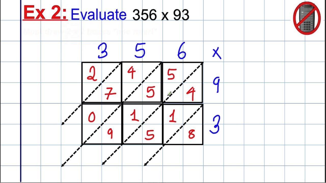 Multiplication Worksheets Large Numbers 2