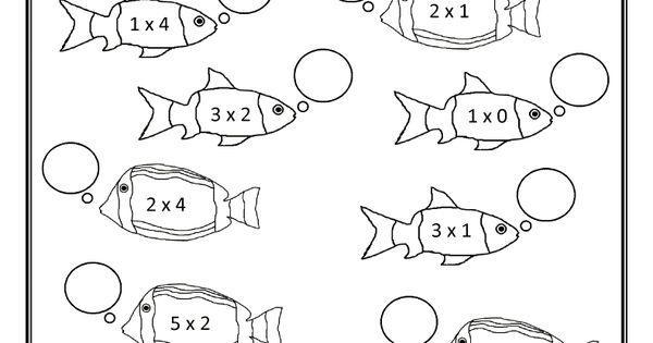 Multiplication Worksheets Up To 5×5 5