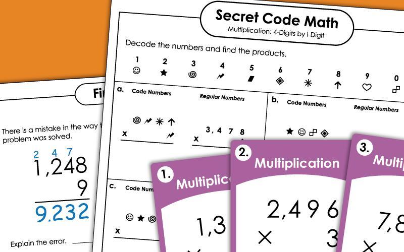 Vertical Multiplication Worksheets For Grade 2