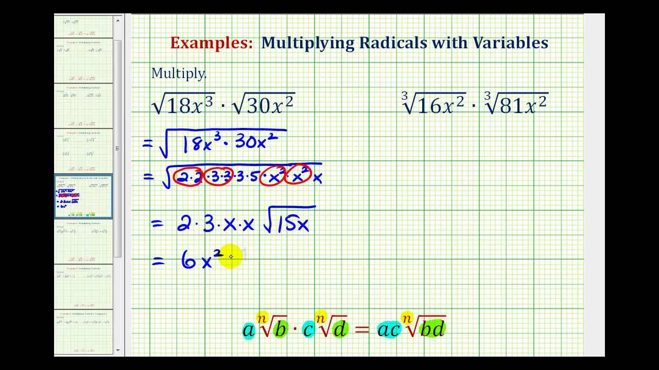 Multiplication Equations With Variables Worksheets