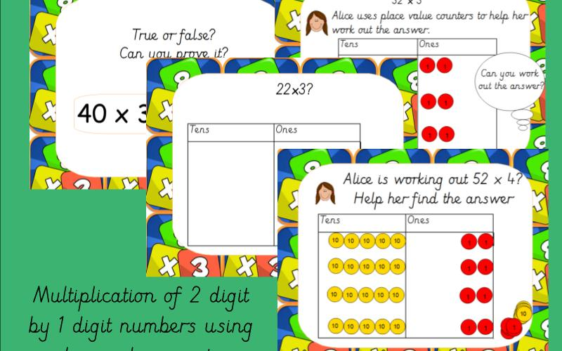 Multiplication Place Value Worksheets 3