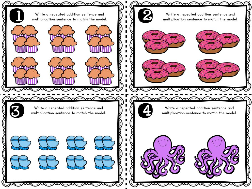 Multiplication Worksheets With Pictures Grade 2
