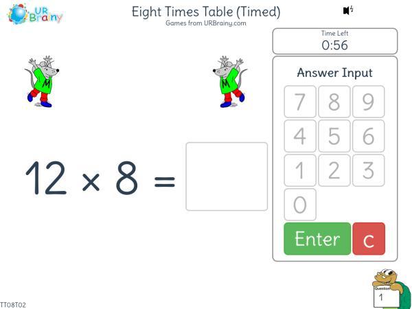 Multiplication Worksheets X8 3