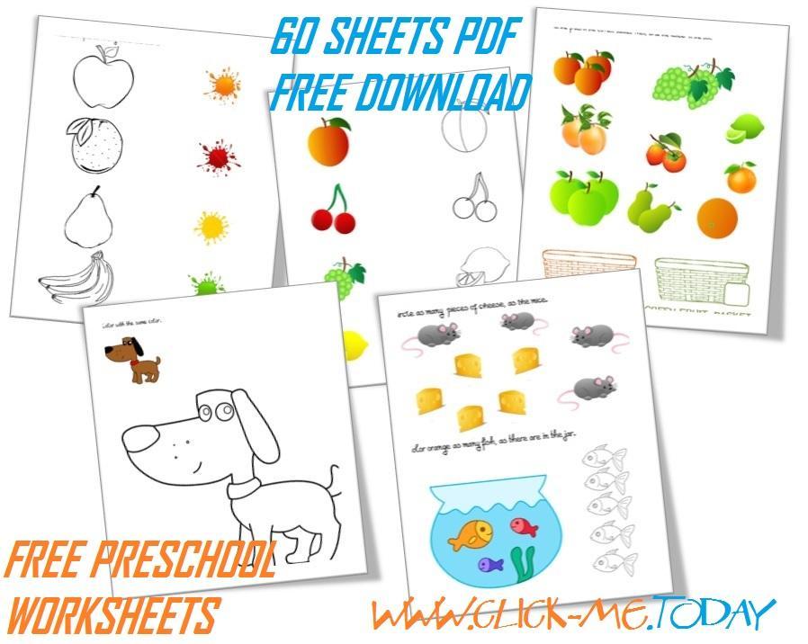 Preschool Math Worksheets Download