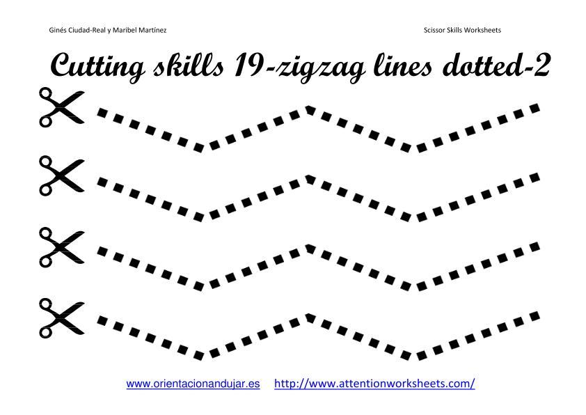 Preschool Spring Cutting Worksheets
