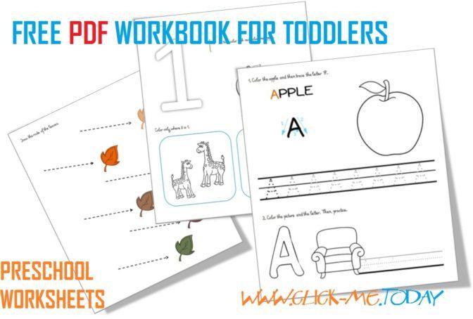 Preschool Worksheets Age 3 Tracing