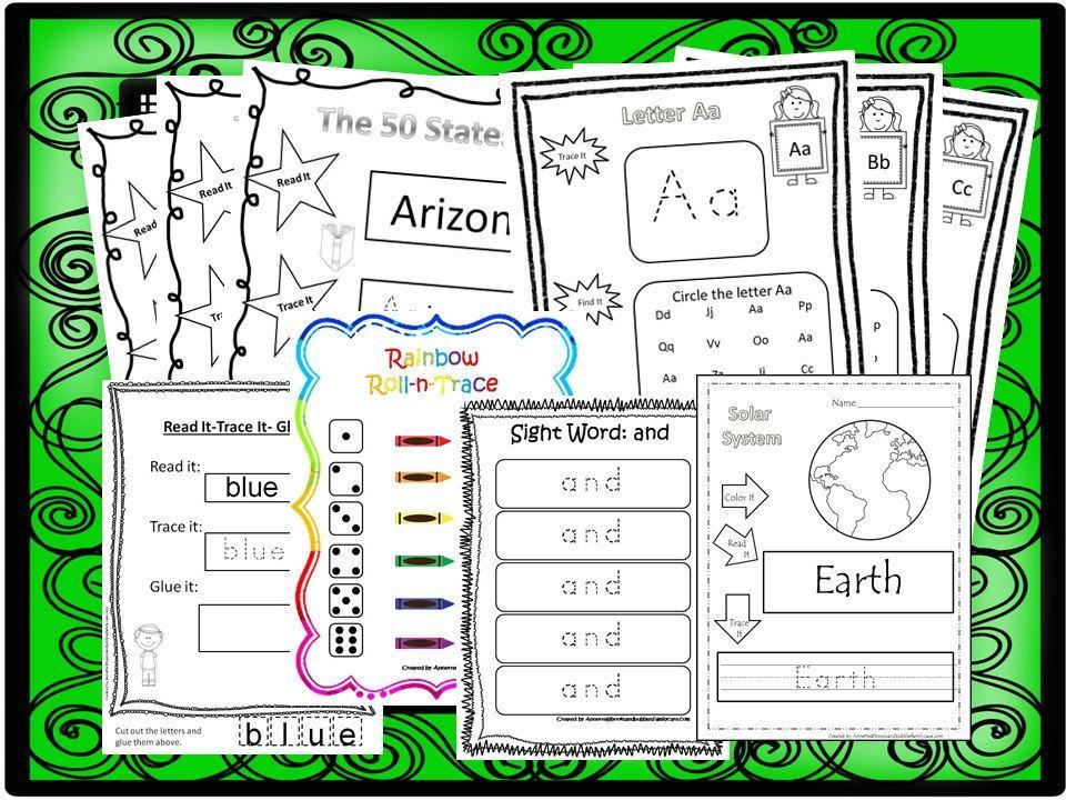 Preschool Worksheets Pdf Download