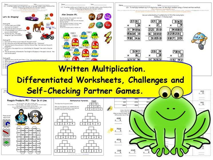 Worksheets Multiplying By 10 100 And 1000