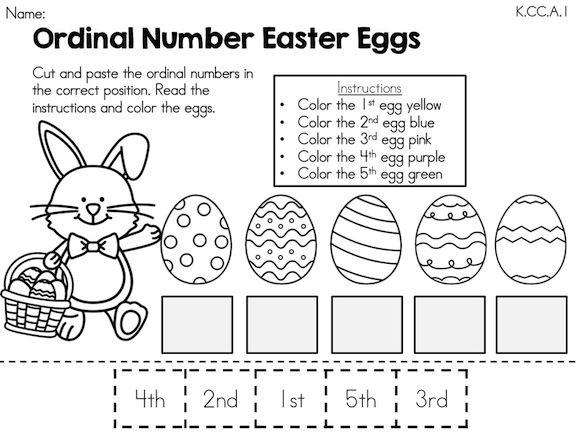 Easter Worksheets For Preschool Pdf