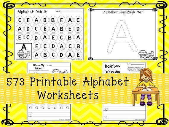 Free Download Worksheets For Preschool