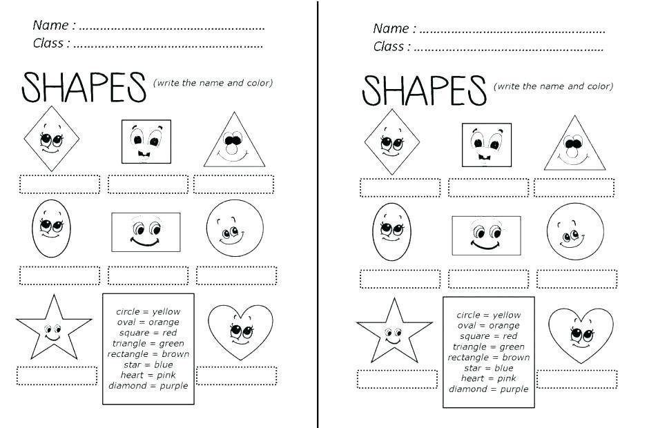 Free Preschool Worksheets Age 3-4 Uk