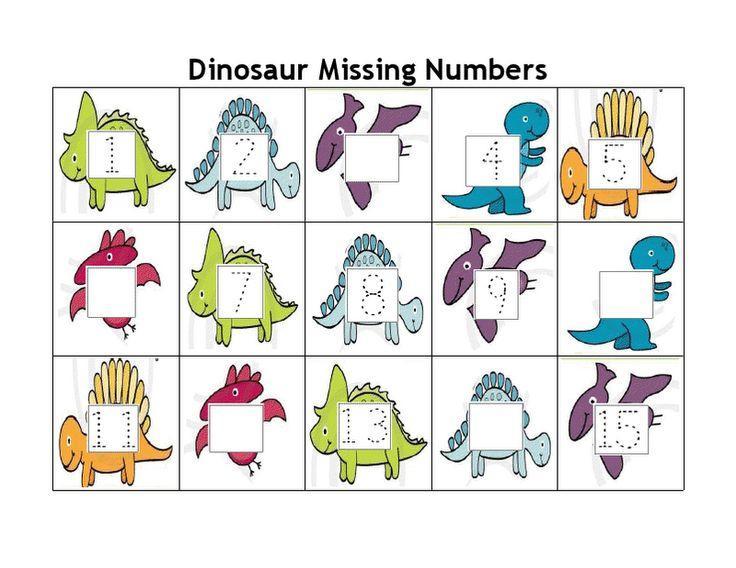 Preschool Dinosaur Worksheets Free