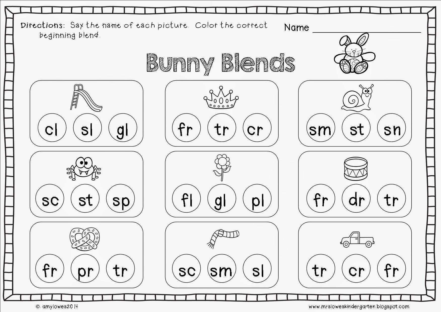Preschool Easter Worksheets Free