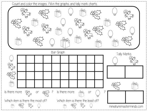 Preschool Graphing Worksheets 5