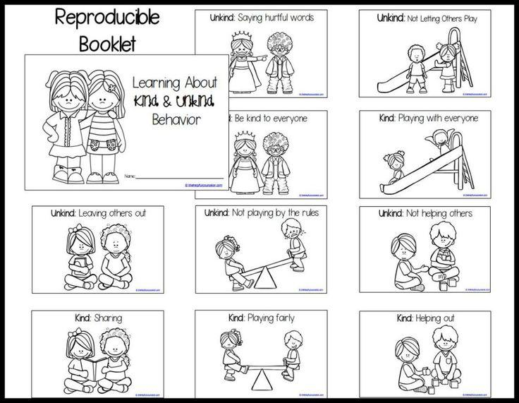Preschool Kindness Worksheets 7