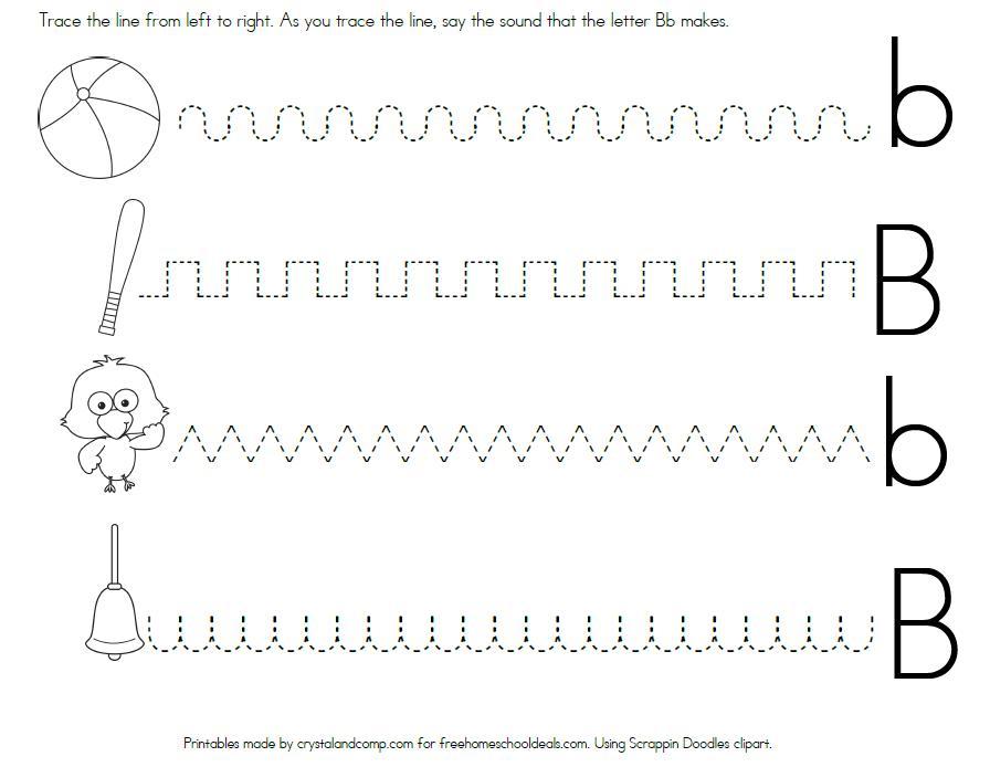 Preschool Letter Worksheets Blank