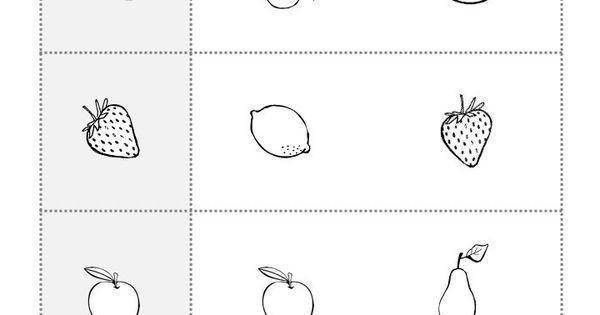 Preschool Worksheets Different Same 2