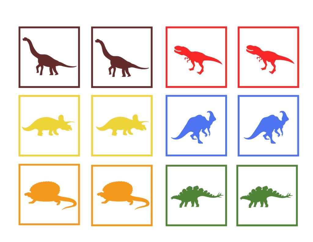Preschool Worksheets Dinosaurs 2